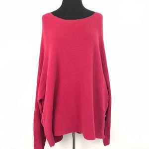 NWT Free Press Knit Dolman Sleeve Sweater XXL